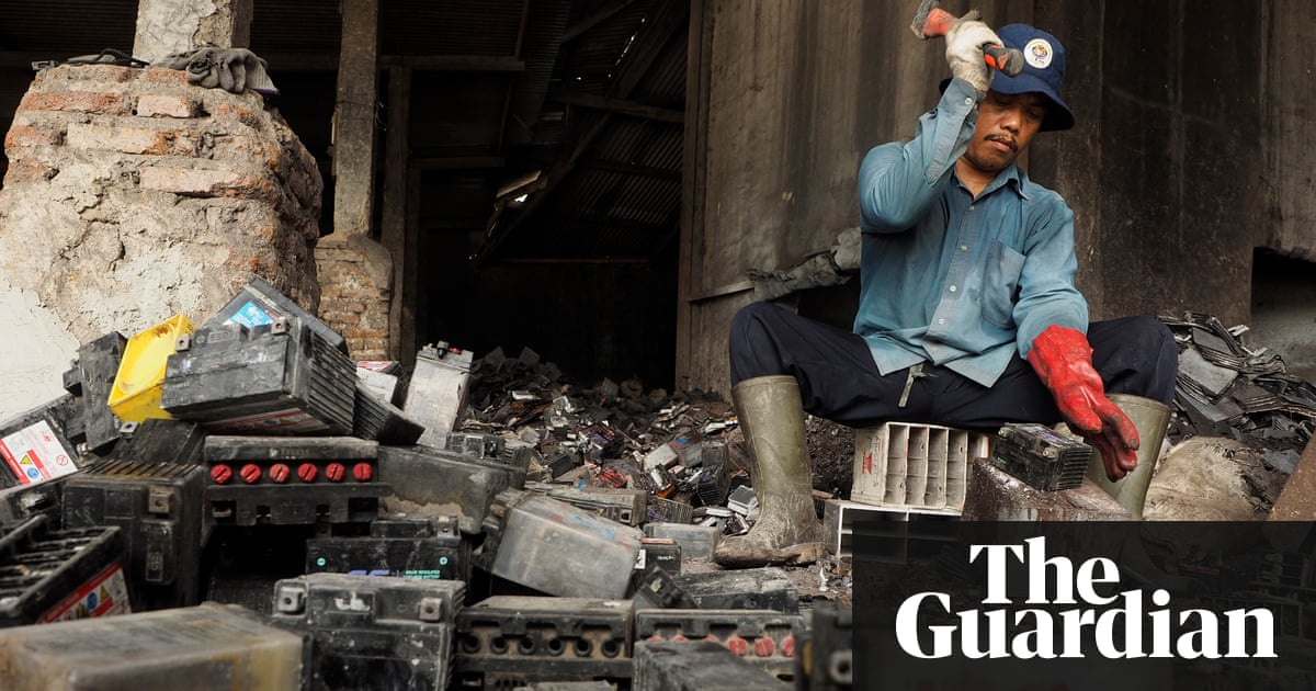 Backyard Battery Recycling Is Biggest Chemical Polluter