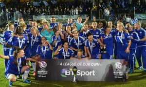 Chelsea, women's champions