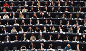 People in the European parliament