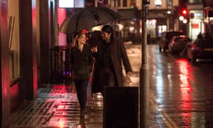 Holliday Grainger and Tom Burke in BBC One's Strike.