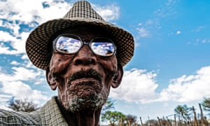 Old Man Jagger from the Ju/'hoansi community in the Kalahari desert.