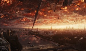 London under attack in Independence Day: Resurgence