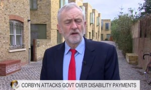 Jeremy Corbyn being interview on the Victoria Derbyshire show.