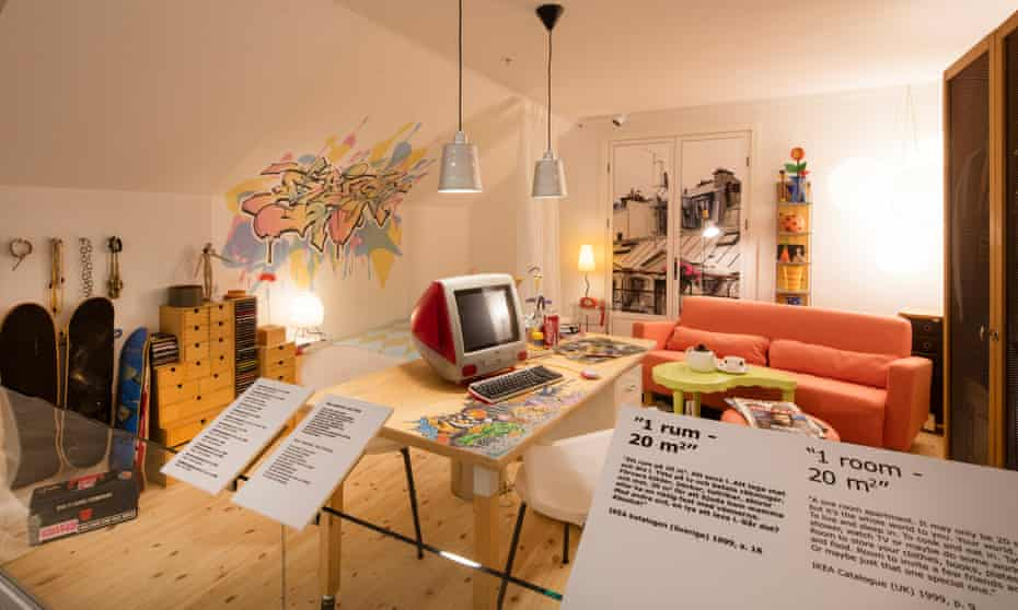 Pre-millennial interiors … a room from Ikea's 1999 catalogue.