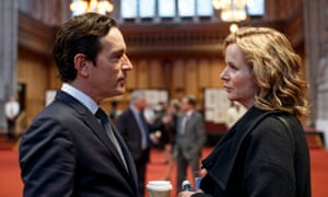 A rare sighting: scientists being real people in the BBC's new thriller Apple Tree Yard.