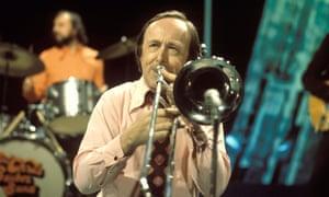 Trombonist Chris Barber