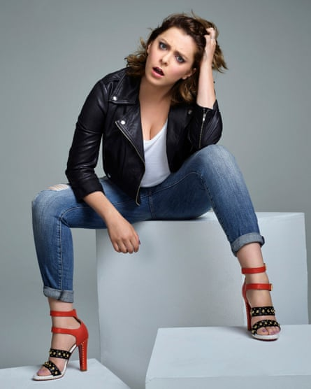 Outrageous joy ... Rachel Bloom.