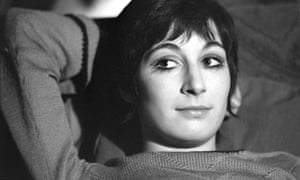Anjelica Huston, aged 17, photographed at her home in Little Venice, London, February 1969.