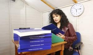 Shappi Khorsandi reads from the first volume.