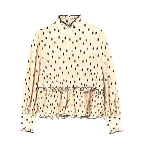 Cream dot, £110, ganni.com
