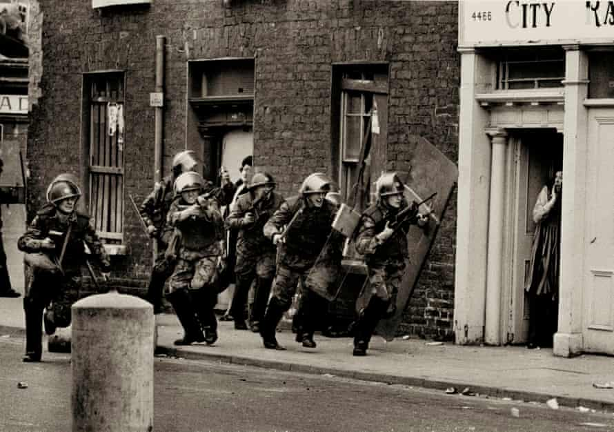 'One of the greatest' … Don McCullin's The Bogside, Derry, 1971.