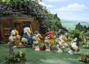 The Wombles television adaptation.