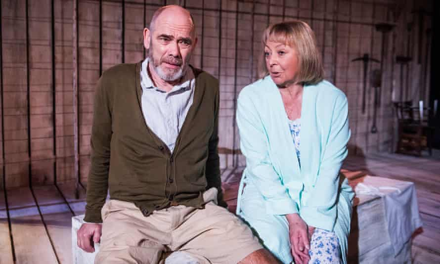 Rugged truculence … Sandra Duncan as Kathleen and Peter Guinness as Guy in After Independence.