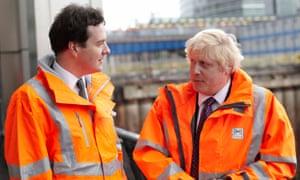George Osborne and Boris Johnson pictured in 2010