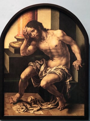 Christ on the Cold Stone, c1530 by Jan Gossaert.