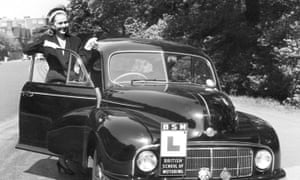 A 1949 Morris Minor