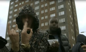 One of Hellbanianz's slickly made drill rap videos, set on the Gascoigne estate in Barking, east London.