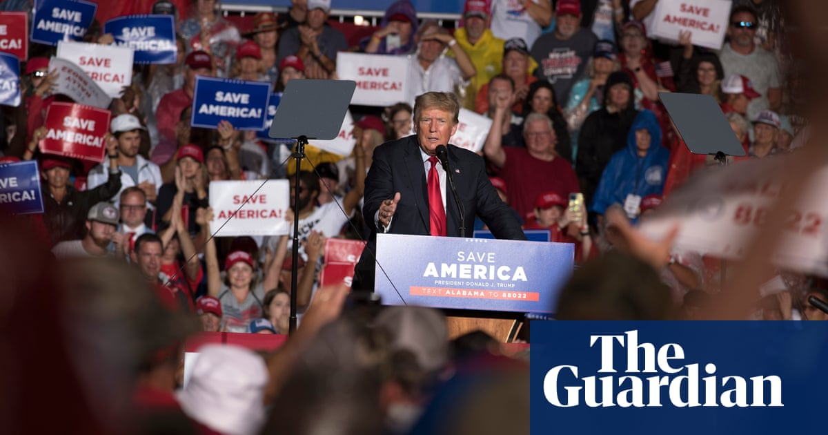 Trump booed after telling supporters to get Covid vaccine