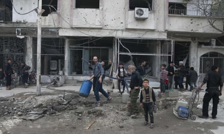 A ceasefire has been reached in the Syrian enclave of eastern Ghouta.