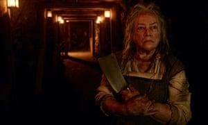 Kathy Bates in American Horror Story.