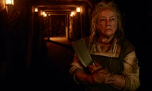 Actor Kathy Bates in American Horror Story, a series in a genre most popular in England's north-east.