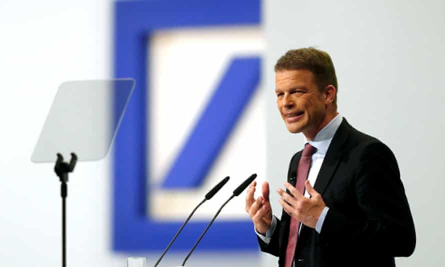 Christian Sewing, head of Germany's Deutsche Bank