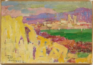 Antibes, c1890-92 by John Peter Russell.