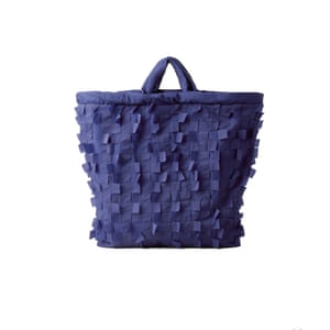 Blue bag, £59, cosstores.com