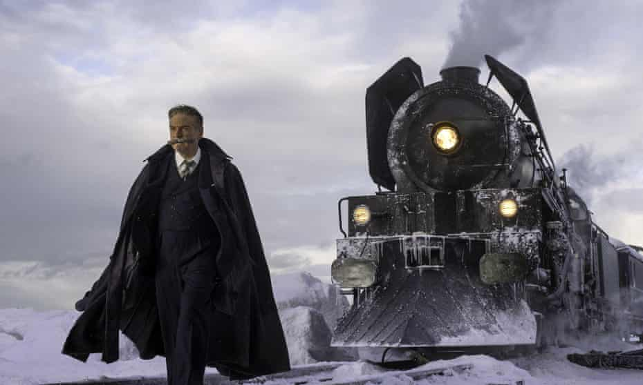 On the wrong track … Kenneth Branagh, director and star of Murder on the Orient Express.