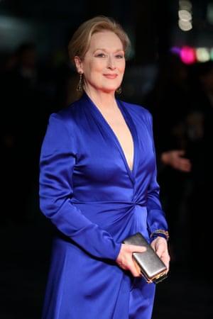 Meryl Streep attends a screening of Suffragette.
