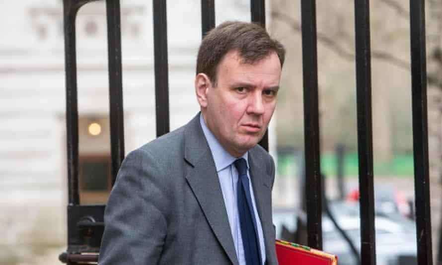 UK trade minister Greg Hands.