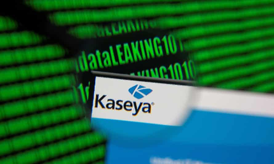Ransomware hackers demand $70m after attack on US software firm Kaseya | Hacking | The Guardian