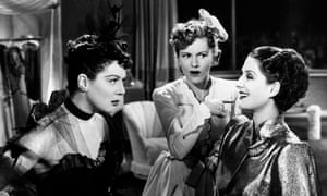 Waspish … from left, Norma Shearer, Rosalind Russell and Joan Fontaine.