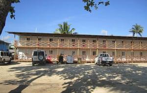 The Seadler Bay hotel in Papua New Guinea