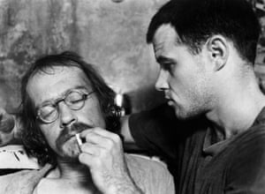 As Max in Midnight Express, with Brad Davis as Billy Hayes, 1978