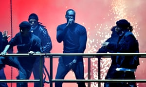 A celebration of creativity … Stormzy at the Brit awards.