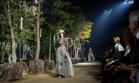 Christian Dior Opens Paris Fashion Week With A Nod To Nature Fashion The Guardian