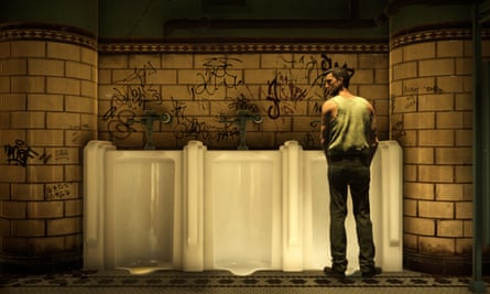 The indie game set entirely in a urinal … The Tearoom.