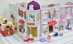 The prototype town department store is tested out by its future shoppers.