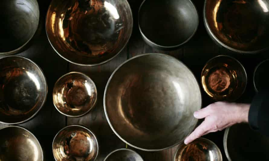 Dish of the days … Longplayer harnesses the sound of Tibetan singing bowls.
