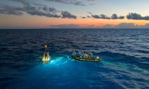 Victor Vescovo's preparations to explore the deepest point of each of the world's five oceans