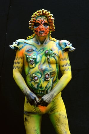 Body Painting Festival In Austria In Pictures Culture The Guardian