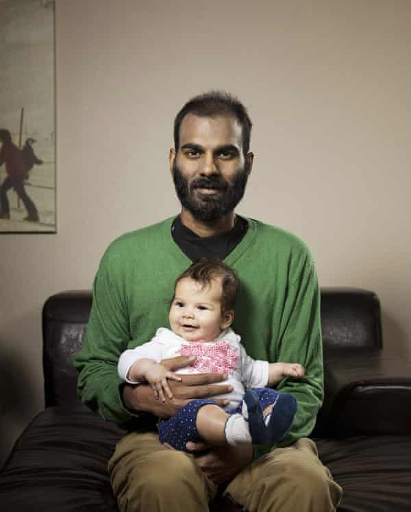 Paul Kalanithi with his daughter in 2015.