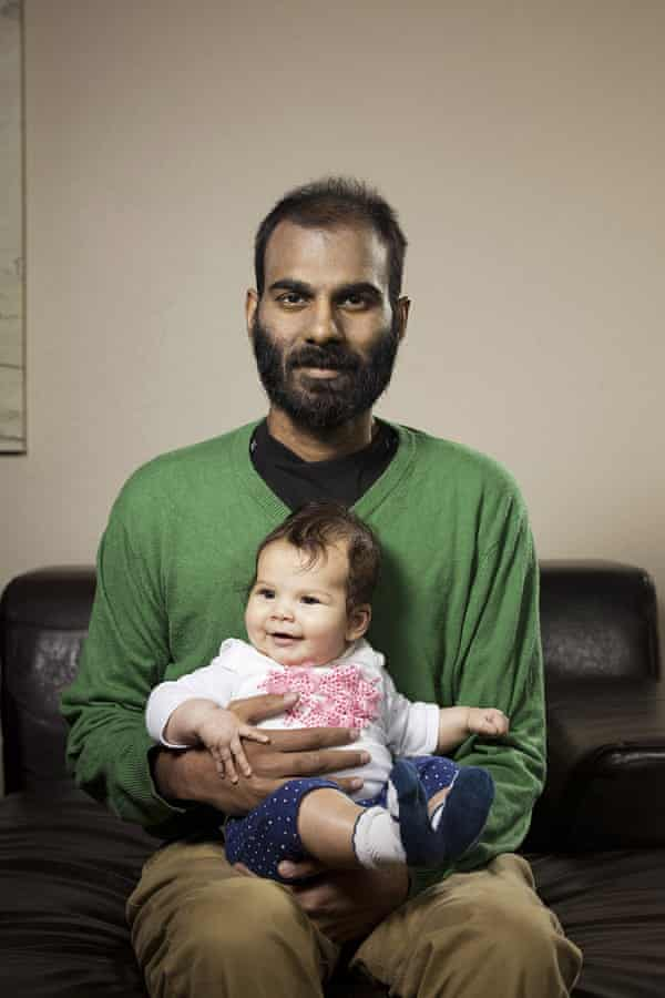 Paul Kalanithi with his daughter Cady.