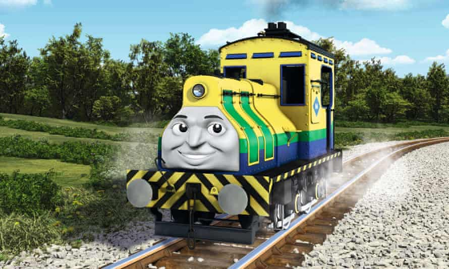 Raul from Thomas the Tank Engine: The Great Race
