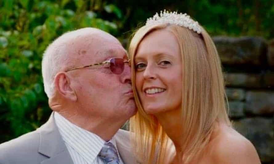Charlotte Compton and her father, James Jones