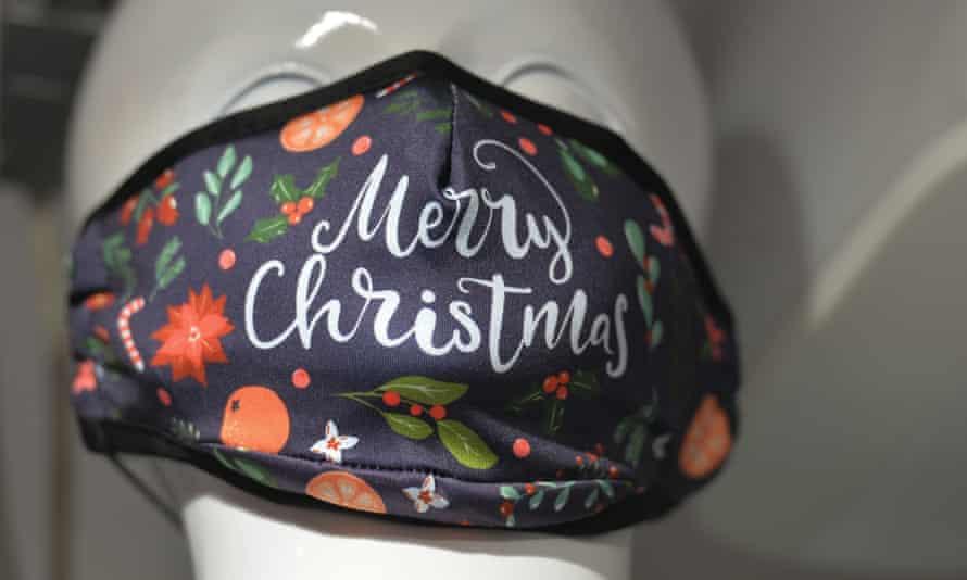a merry christmas mask