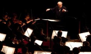 Pierre Boulez: With the Paris Orchestra, December 2011.