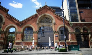 The old fish market in Manchester's Northern Quarter.