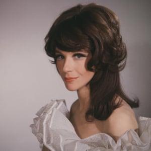 Fenella Fielding in a film studio portrait in 1966